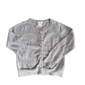 🍒3/$20🍒 Gray Button Up Cardigan 4-5 yrs